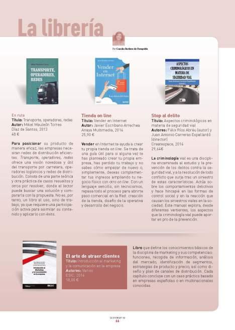La librería. Revista CESVIMAP 90